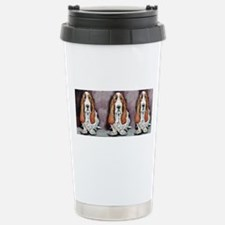 Bassett Hound Trio Travel Mug