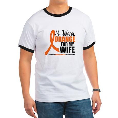I Wear Orange For My Wife Ringer T