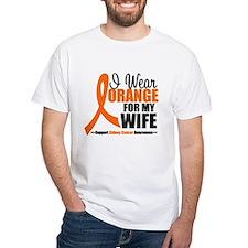 I Wear Orange For My Wife Shirt