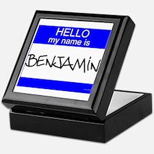 """Benjamin"" Keepsake Box"