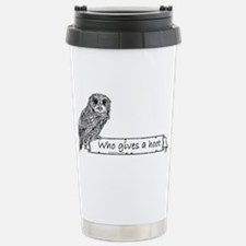 Hoot Owl Travel Mug