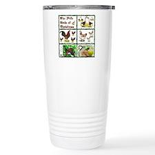 Christmas Birds Travel Coffee Mug