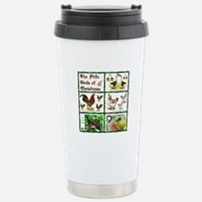 Christmas Birds Travel Mug