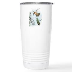 Rufous Hummingbirds Travel Mug