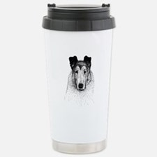 Smooth Collie Stainless Steel Travel Mug