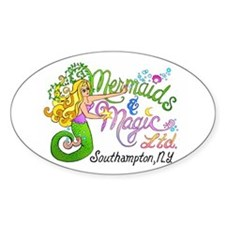 Mermaids and Magic Oval Decal