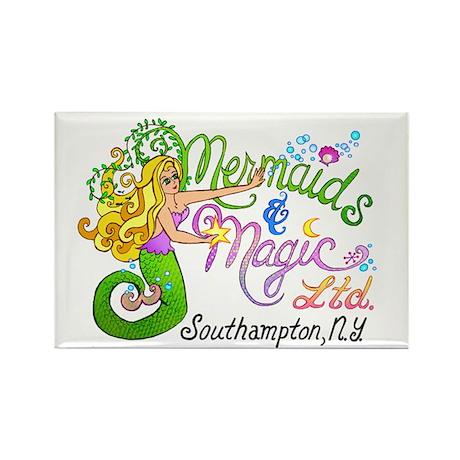 Mermaids and Magic Rectangle Magnet