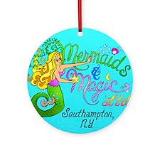 Mermaids and Magic Ornament (Round)