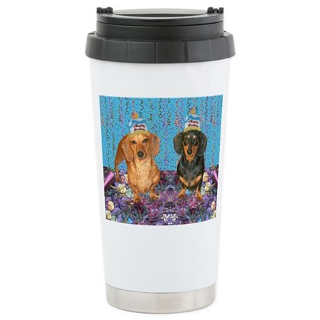 Happy Birthday Stainless Steel Travel Mug