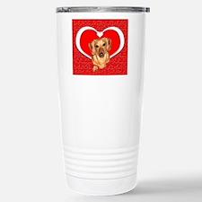 Sweetheart Dachshund Dog Travel Mug