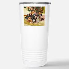 A Dachshund Family Christmas Travel Mug