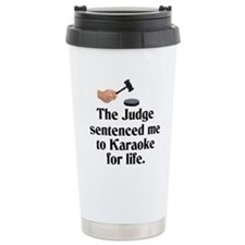 The Judge Travel Mug