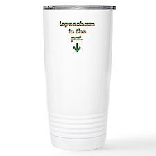 Leprechaun In The Pot Travel Mug