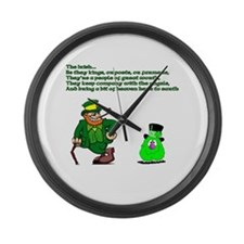 The Irish Large Wall Clock