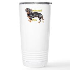 Dachshund Mom Travel Coffee Mug