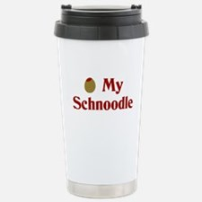 Olive(I Love) My Schnoodle Travel Mug