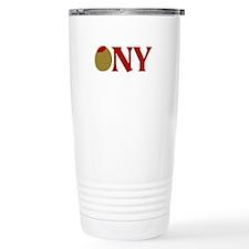Olive (I Love) NY Travel Mug