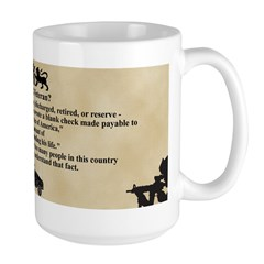 What is a Veteran? Mug