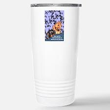 Bedtime Story Dachshund Dogs Travel Mug