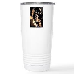 Native American Doxie Travel Mug
