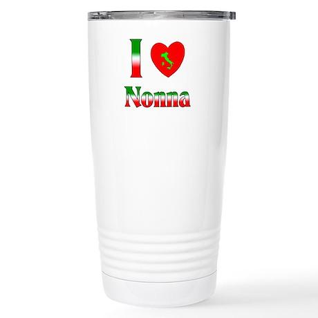I Love Nonna Stainless Steel Travel Mug