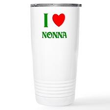 I Love Nonna Travel Coffee Mug