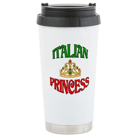 Italian Princess Stainless Steel Travel Mug
