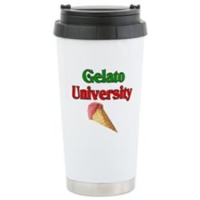 Gelato University Travel Coffee Mug