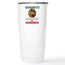 Spaghetti Breakfast of Champi Travel Mug