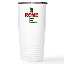 Veni Vidi Vinci I came, I saw Travel Mug