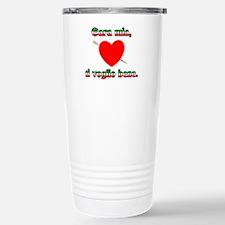 Valentine's Day Stainless Steel Travel Mug