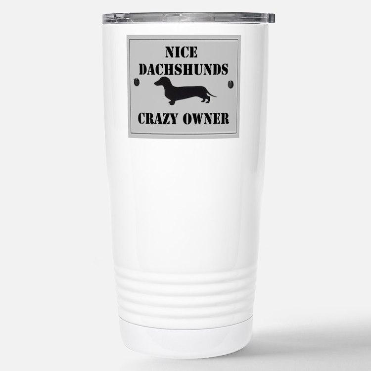 Nice Dachshunds Travel Mug