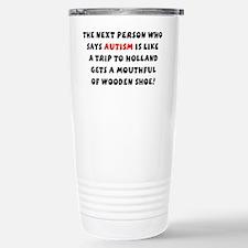 Aspie humor Travel Mug