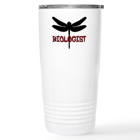 Biologist (dragonfly) Stainless Steel Travel Mug