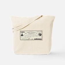 Emperor Norton Ten Dollar Bill Tote Bag