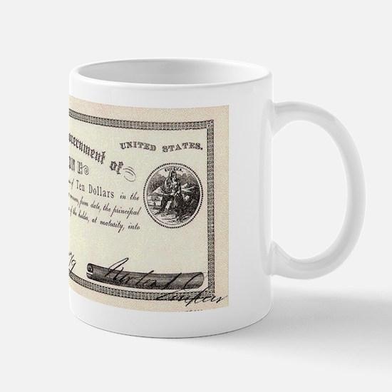 Emperor Norton Ten Dollar Bill Mug