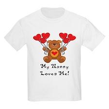 My Nanny Loves Me! T-Shirt