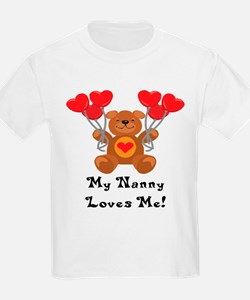 My Nanny Loves Me! T-Shirt