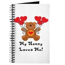 My Nanny Loves Me! Journal