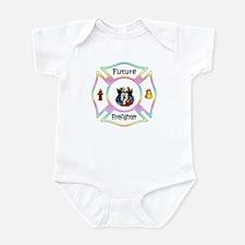 Future Firefighter Pastel Infant Bodysuit