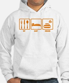 Eat Sleep Curling Hoodie
