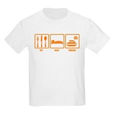 Eat Sleep Curling T-Shirt