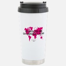 An Educated Girl Can Empower Travel Mug