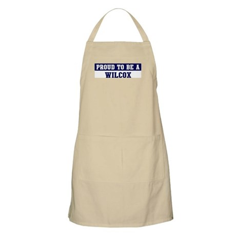 Proud to be Wilcox BBQ Apron