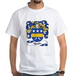 Boutin Family Crest White T-Shirt