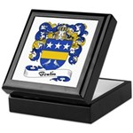 Boutin Family Crest Keepsake Box