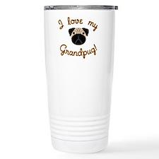 I love my Grandpug Travel Mug