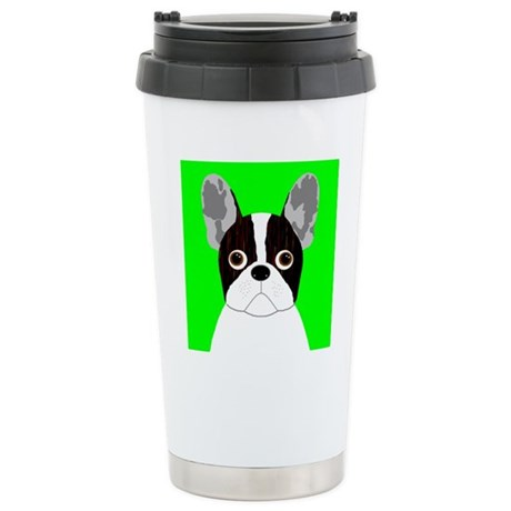Frenchy (Pied) Stainless Steel Travel Mug