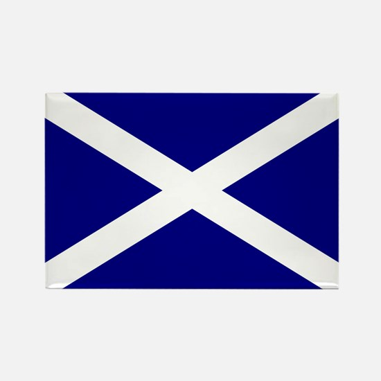 Scottish Flag Rectangle Magnet (10 pack)