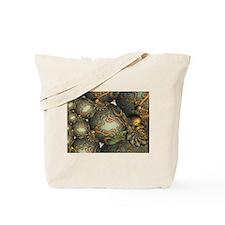 """Encrusted"" Fractal Art Tote Bag"